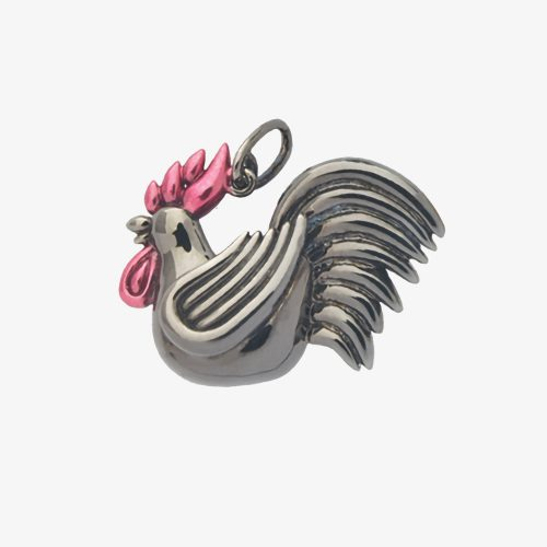 Chinese Zodiac Rooster Pendant